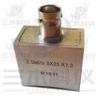 2.5MHz 8×25 K1.3 超声波斜探头(凹面磨弧)