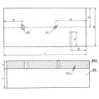 堆焊层对比试块(NB/T47013.3-2015)