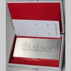 JB/T6064-B6型镀铬辐射裂纹参考试片(不锈钢六点)