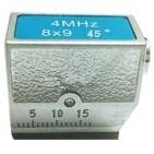 4MHz 8×9 45° 超声波斜探头