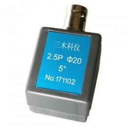 2.5P Φ20 5° 小角度探头(用于探测螺纹)