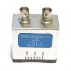 5MHz 8×12×2 F15 Φ30 双晶直探头(磨弧)