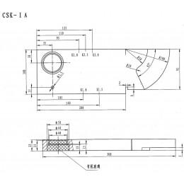 CSK-IA超声波试块(NB/T 47013.3-2015)